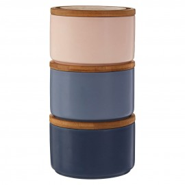 Stylish Fenwick Kitchen Storage Canisters Bamboo Lid