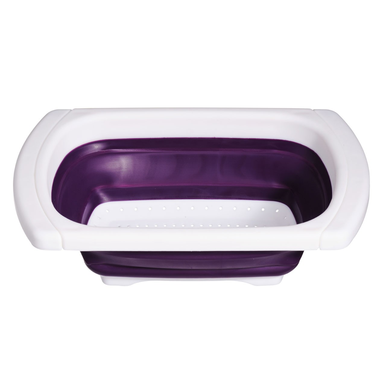 Zing Over Sink Drainer - Purple/White