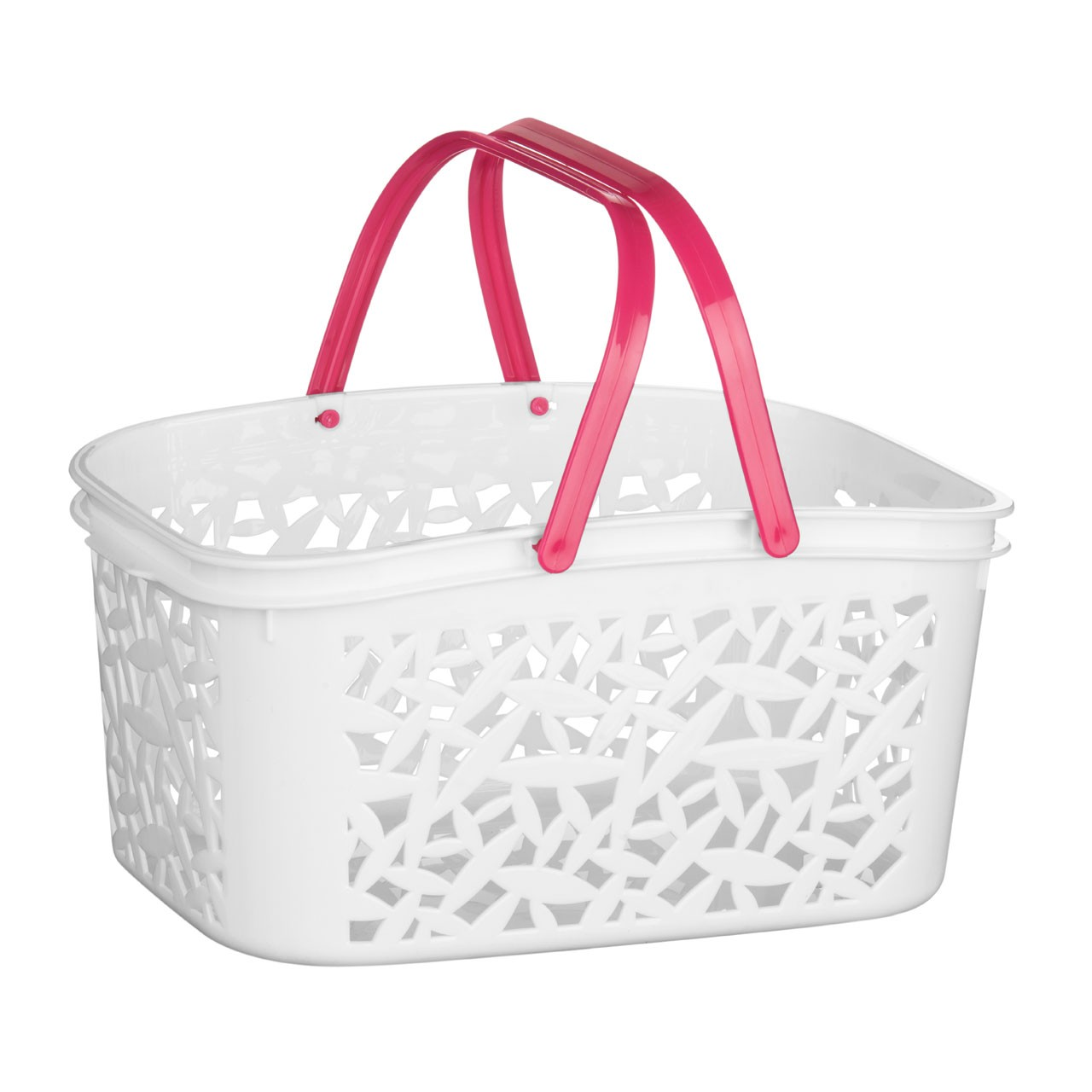 Storage Basket Plastic 4.5 Ltr Available in 2 Colours Ideal For