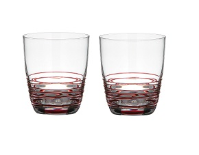 Prime Furnishing Sevilla Mixer Glass, Set of 2