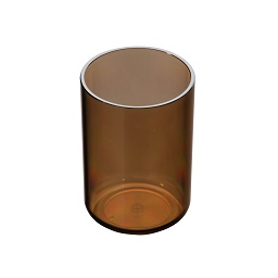 Prime Furnishing Plastic Tumbler - Smoke Brown