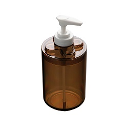 Prime Furnishing Plastic Lotion Dispenser - Smoke Brown